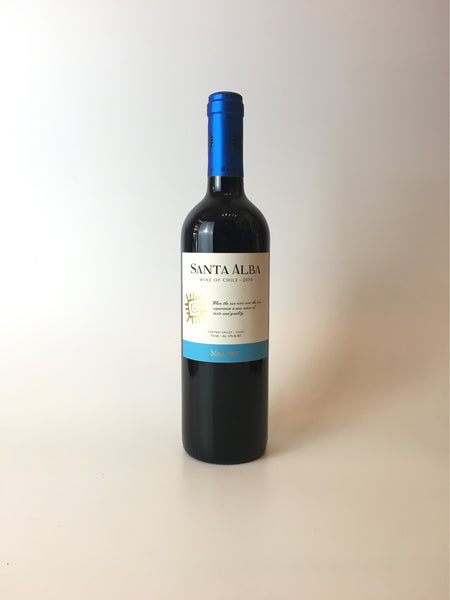 Santa Alba, Malbec, Central Valley Chile, 2017, 750mL - Corkscrew Wines Brooklyn