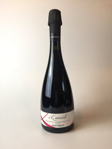 Medici Ermete, i Quercioli, Lambrusco Dolce, NV 750 ml - Corkscrew Wines Brooklyn