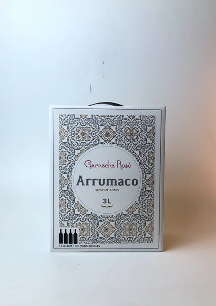 Arrumaco, Garnacha Rosado, Spain, 2016, 3L Bag-in-Box - Corkscrew Wines Brooklyn