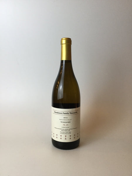Clendenen Family Vineyards, Viognier, Santa Maria Valley, California, 2015, 750mL - Corkscrew Wines Brooklyn