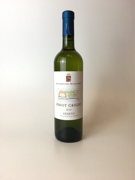 Guerrieri Rizzardi, Pinot Grigio, Veneto 2016, 750ml - Corkscrew Wines Brooklyn
