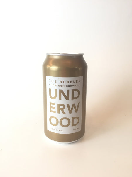 Underwood, Sparkling Wine Can, 375mL - Corkscrew Wines Brooklyn