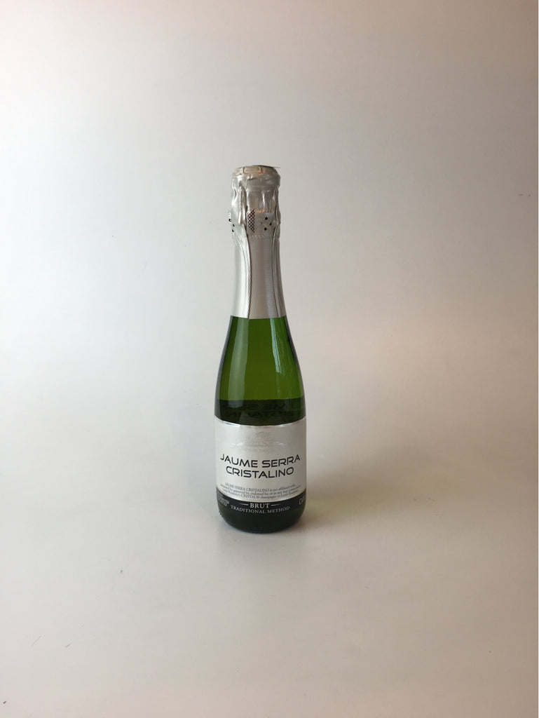 Jaume Serra Cristalino - Cava Brut NV (375ml) - Corkscrew Wines Brooklyn