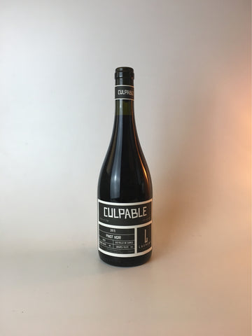 Laurent, Culpable, Pinot Noir, Valle De Curico,  2017, 750ml - Corkscrew Wines Brooklyn