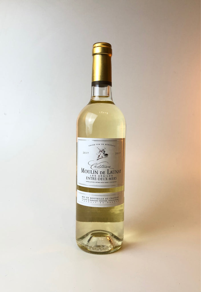 Chateau Moulin De Launey, Les Argiles, White Blend, Bordeaux France, 2017, 750ml - Corkscrew Wines Brooklyn