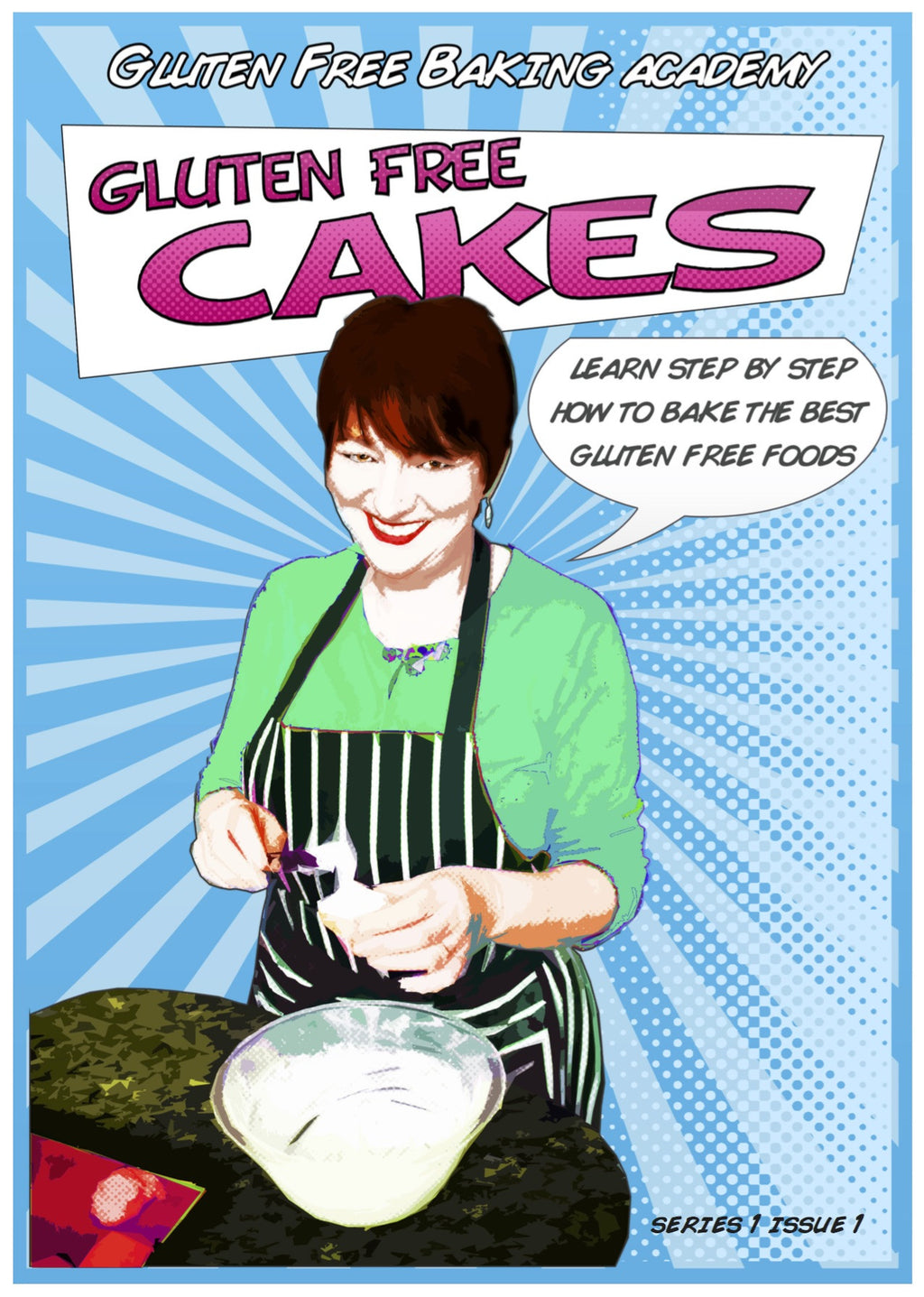 Gluten Free Cake Masterclass - digital download