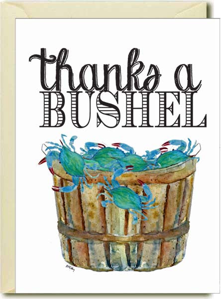 Thanks a Bushel Boxed Note Cards