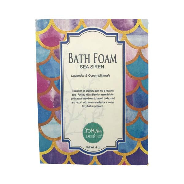 Sea Siren Bath Foam