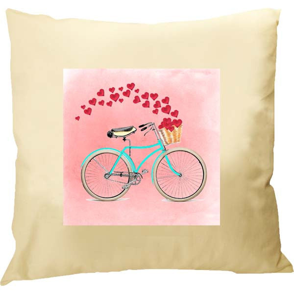Bike Love Pillow