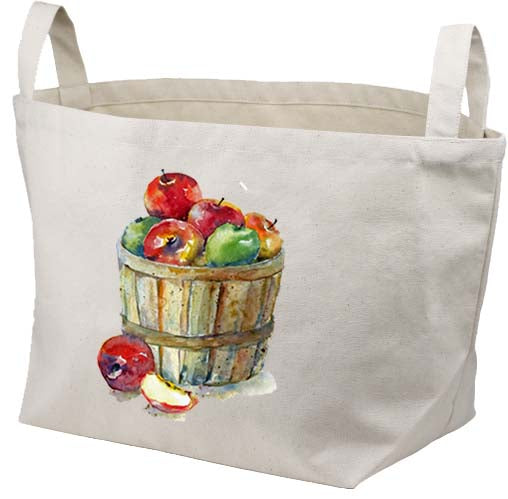 Apple Basket Canvas Basket