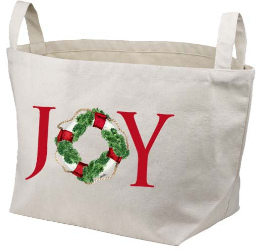 Joy Life Ring Canvas Basket