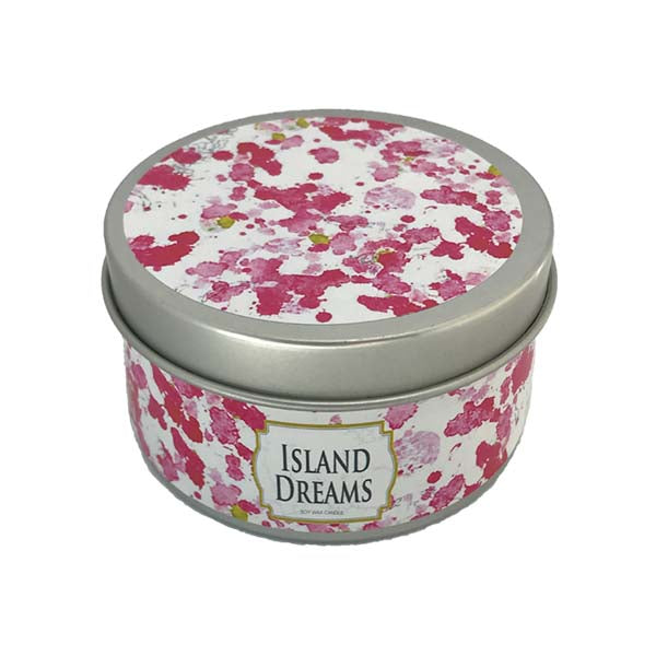 Island Dream Candle Tin