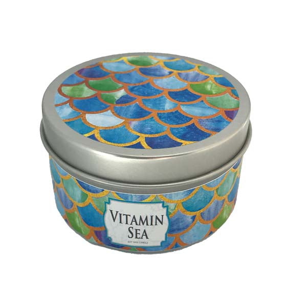 Vitamin Sea Candle Tin