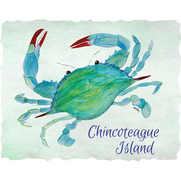 Crab-Chincoteague Wall Art