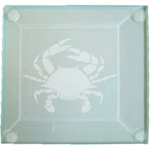 Crab Glass Coaster