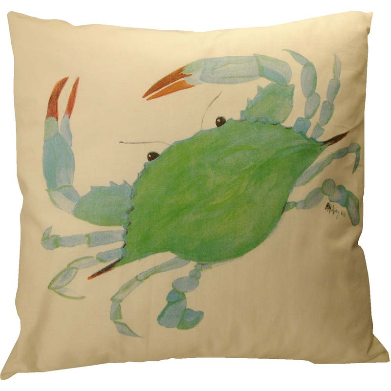 Blue Crab Pillow