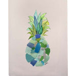 Sea Glass Pineapple Fingertip Towel