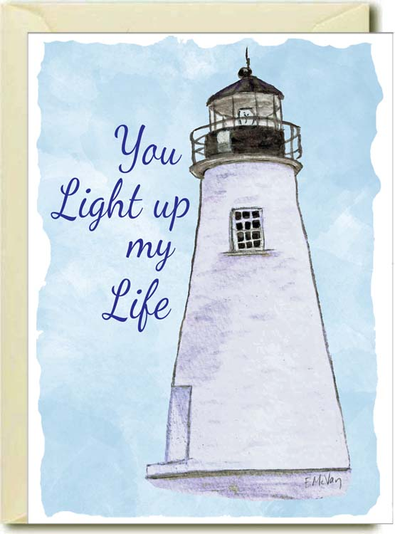 You Light Up My Life Boxed Note Cards