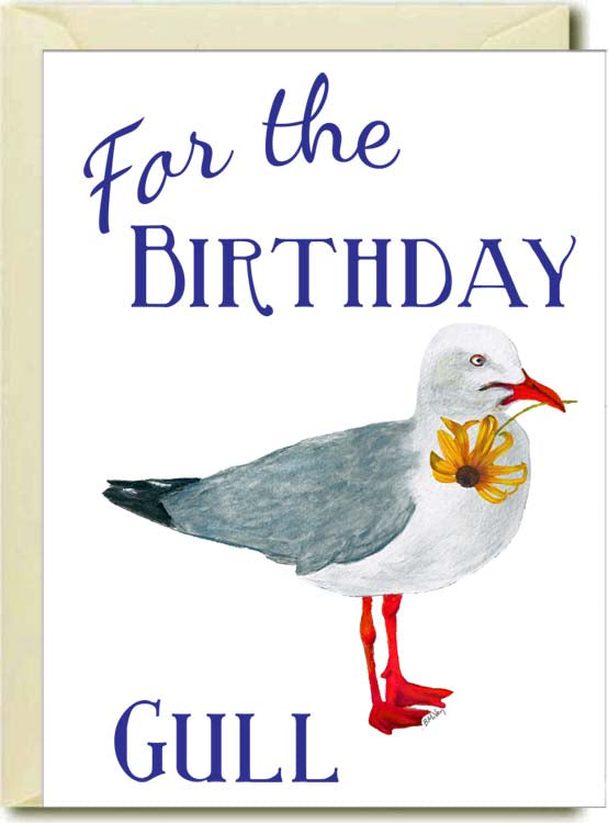 Birthday Gull Boxed Note Cards