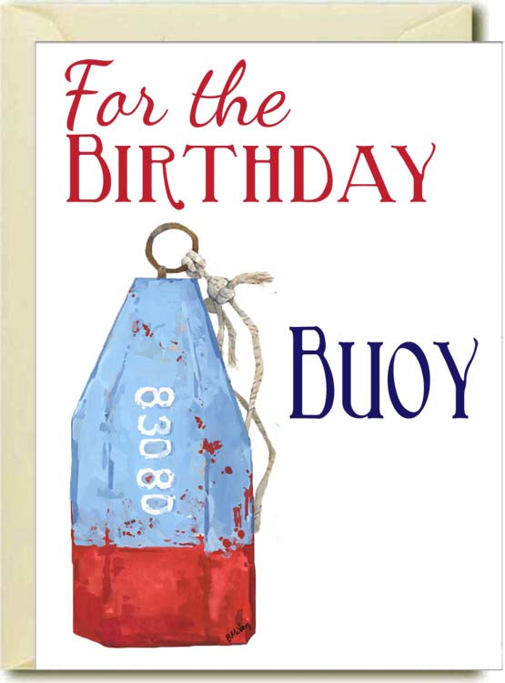 Birthday Bouy Boxed Note Cards