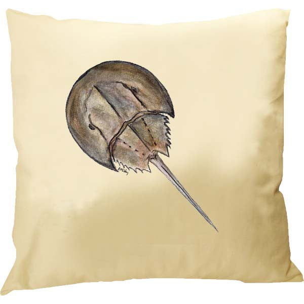 Horseshoe Crab Pillow