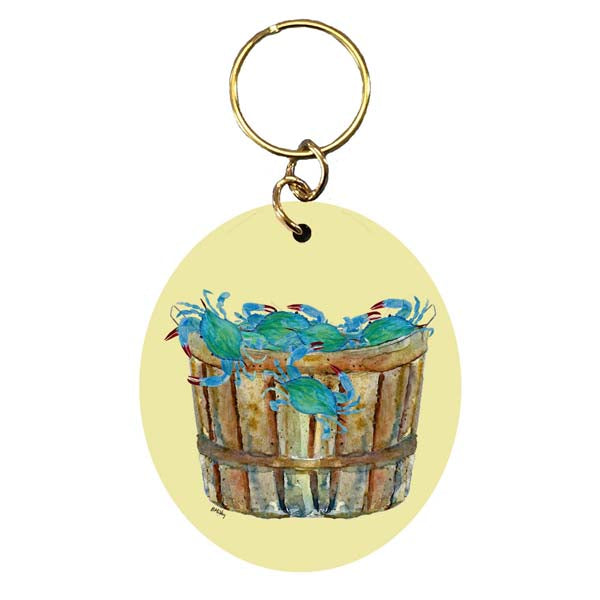 Bushel of Crabs Keychain