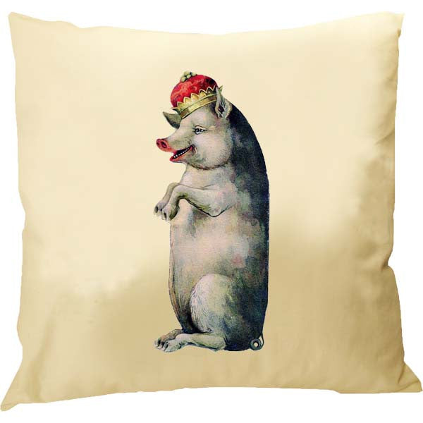 King Pig Pillow