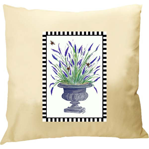 Lavender Framed Pillow