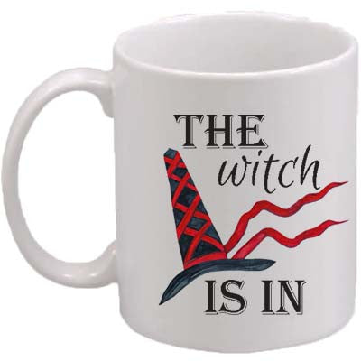 The Witch Is In Classic Mug