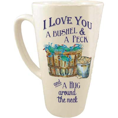 I Love You A Bushel Latte Mug