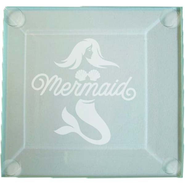 Mermaid Glass Coaster