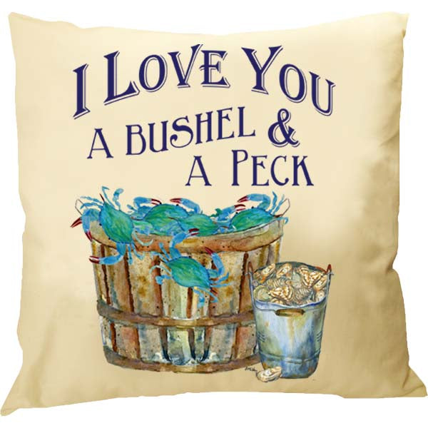 I Love You A Bushel Pillow