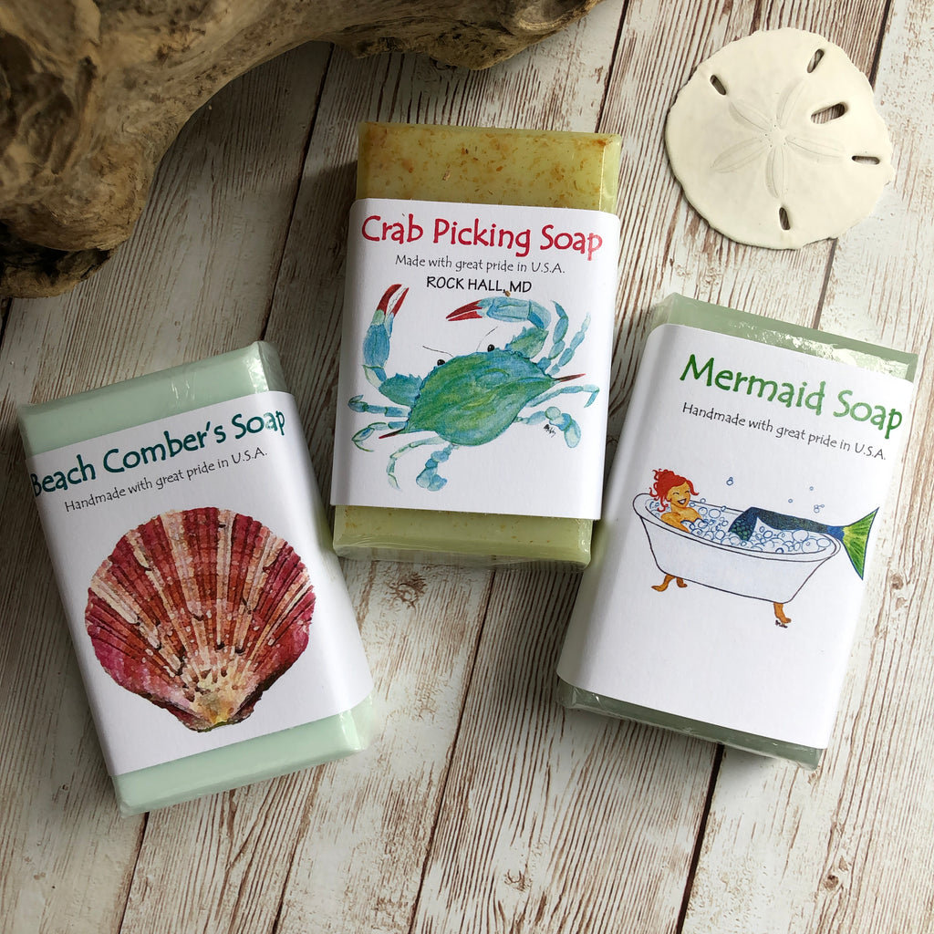 Coastal Soap Set