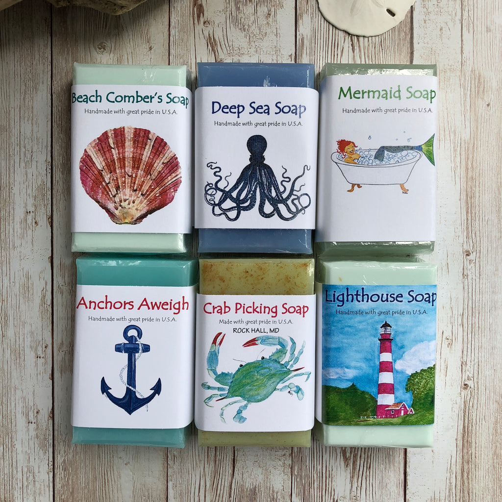Life's A Beach Soap Collection