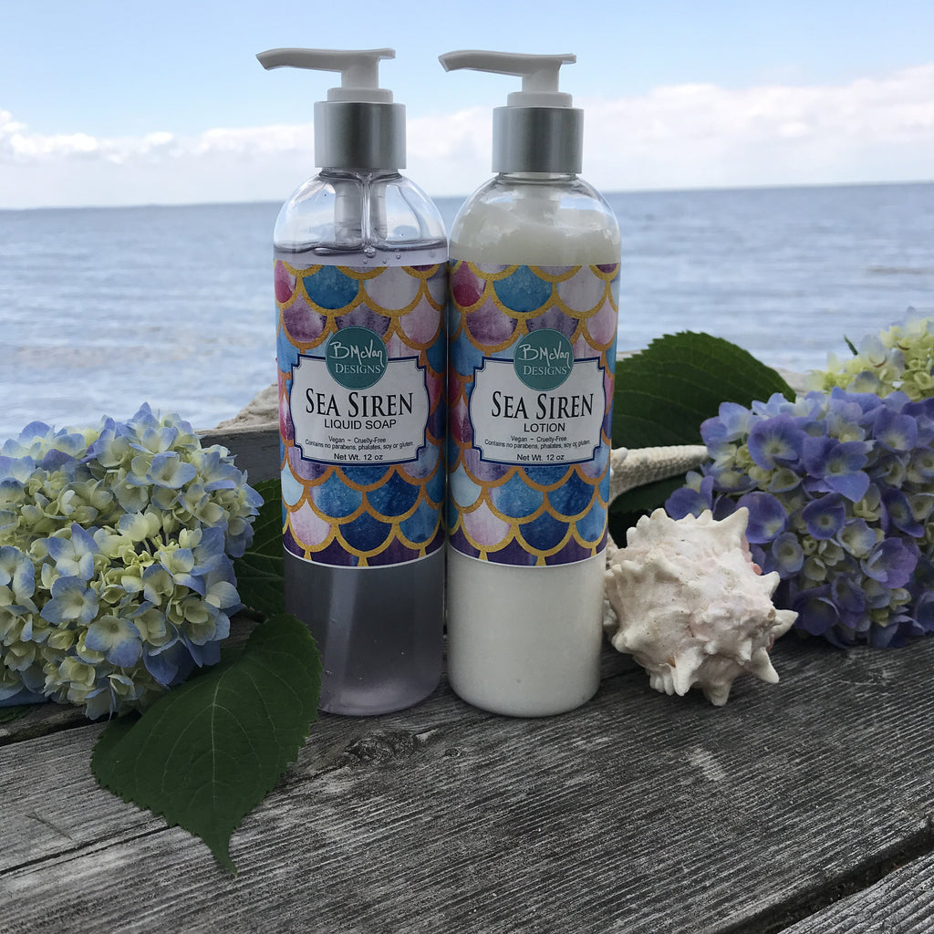 Sea Siren Lotion & Liquid Soap