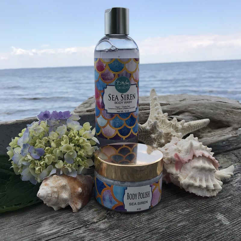 Sea Siren Body Wash & Body Polish Set