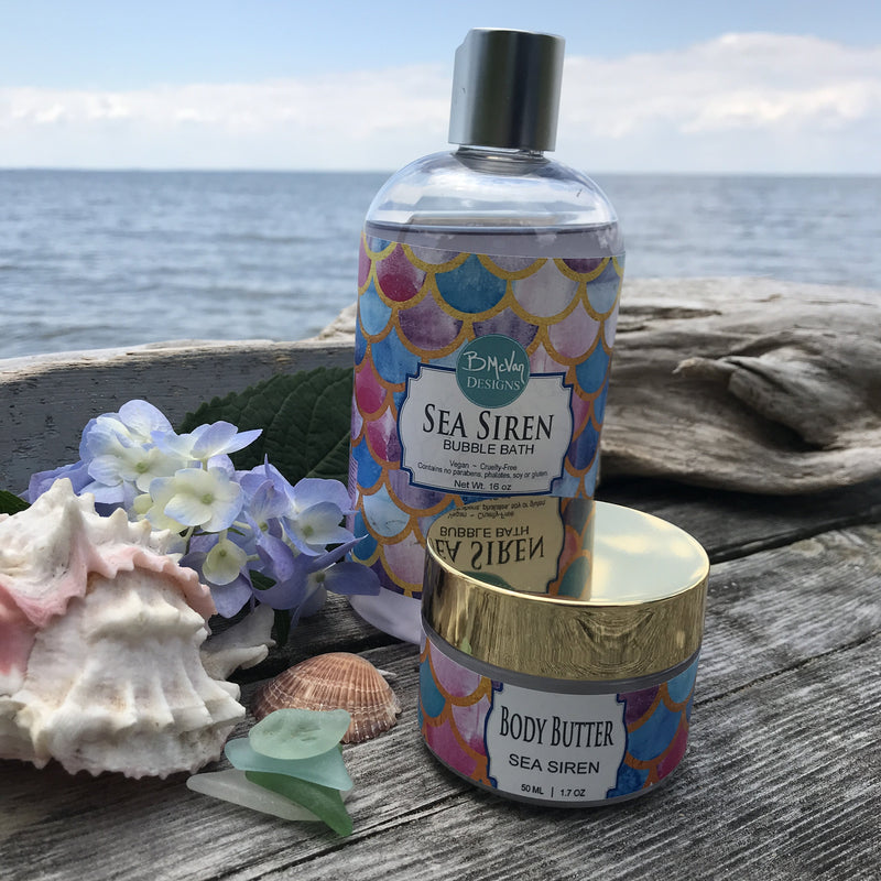 Sea Siren Bubble Bath & Body Butter