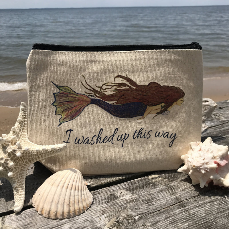 I Washed Up Zipper Pouch