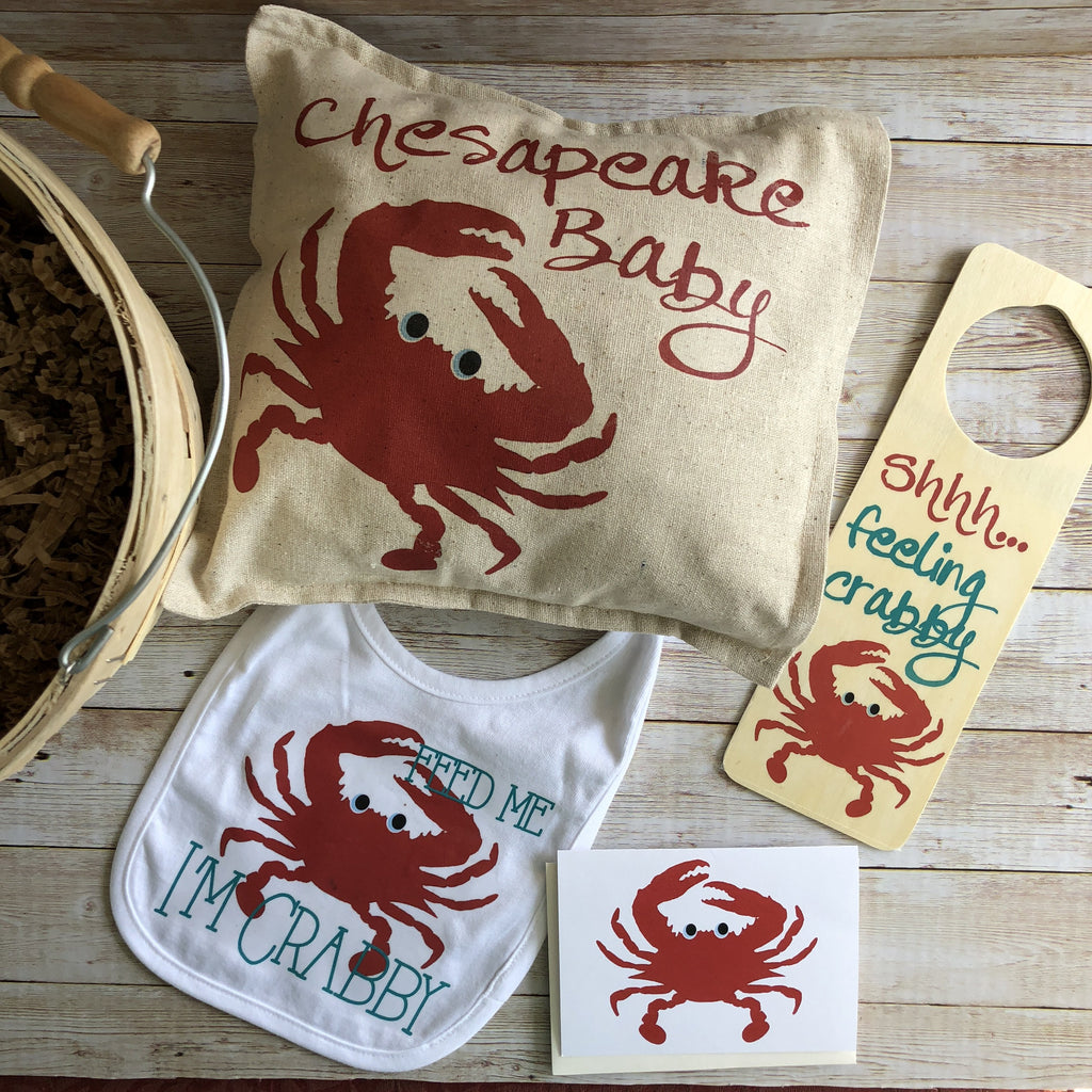 Crabby Baby Basket