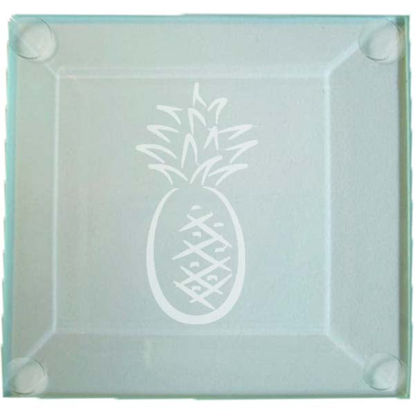 Pineapple Glass Coaster