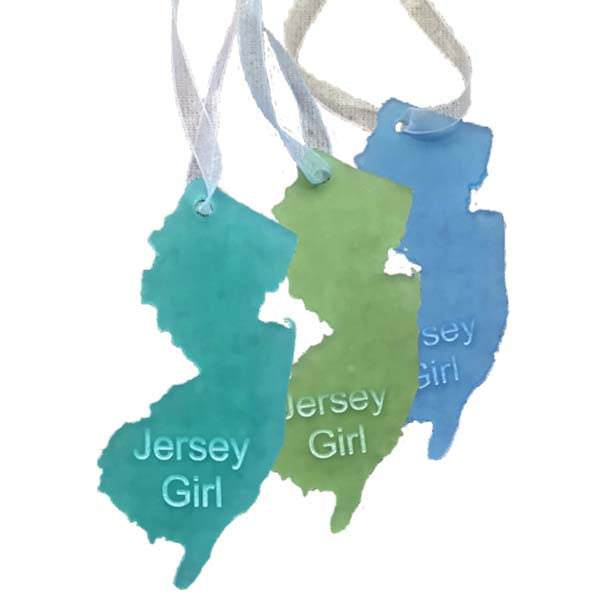 NJ - Jersey Girl Ornaments - Set of 3