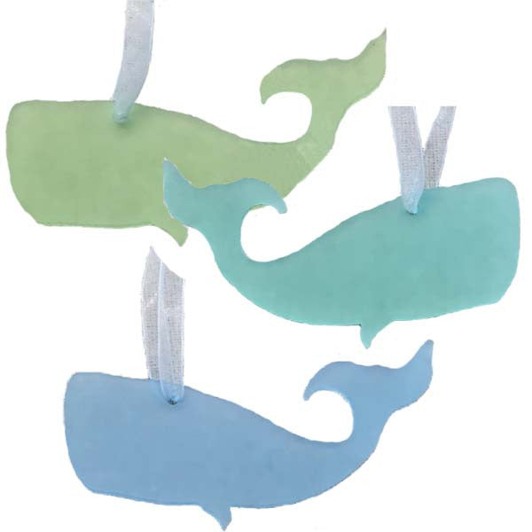 Whale Ornament - Set of 3
