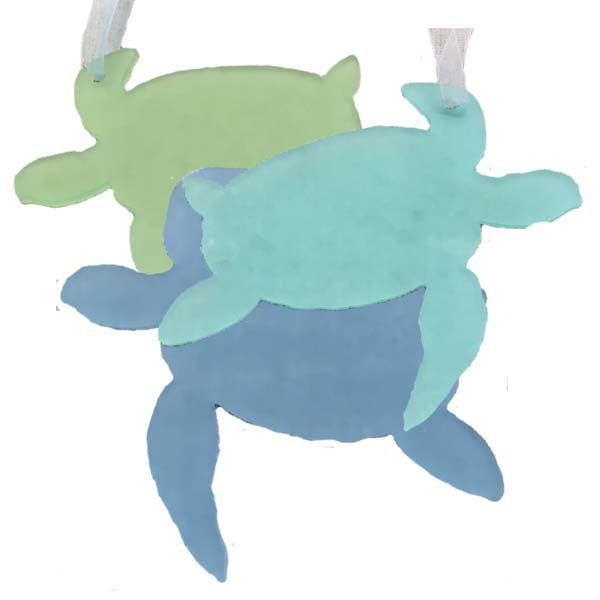 Sea Turtle Ornaments - Set of 3