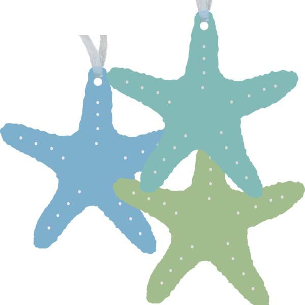 Starfish Ornaments - Set of 3
