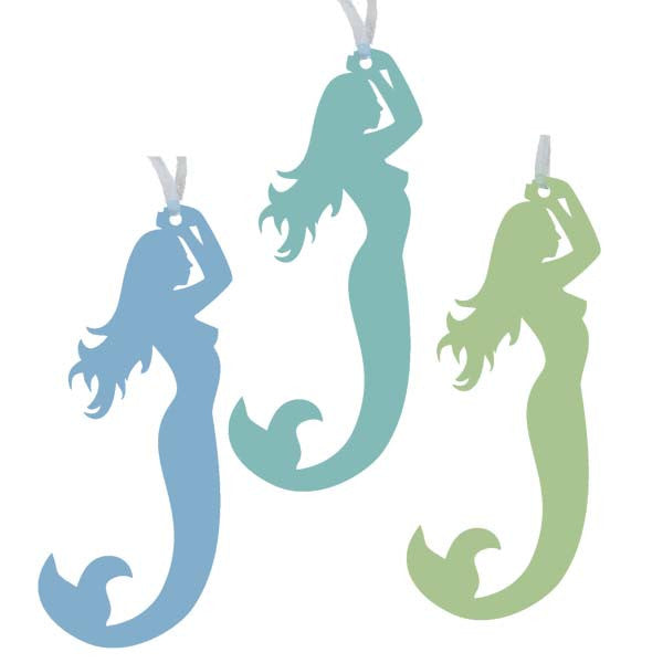 Mermaid Ornaments - Set of 3