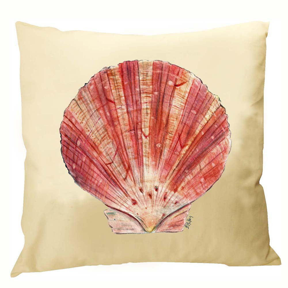 Scallop Shell Pillow