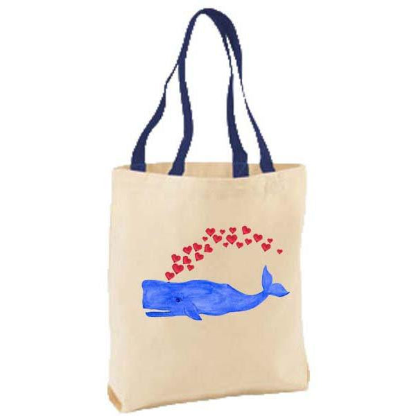 Whale Love Tote Bag