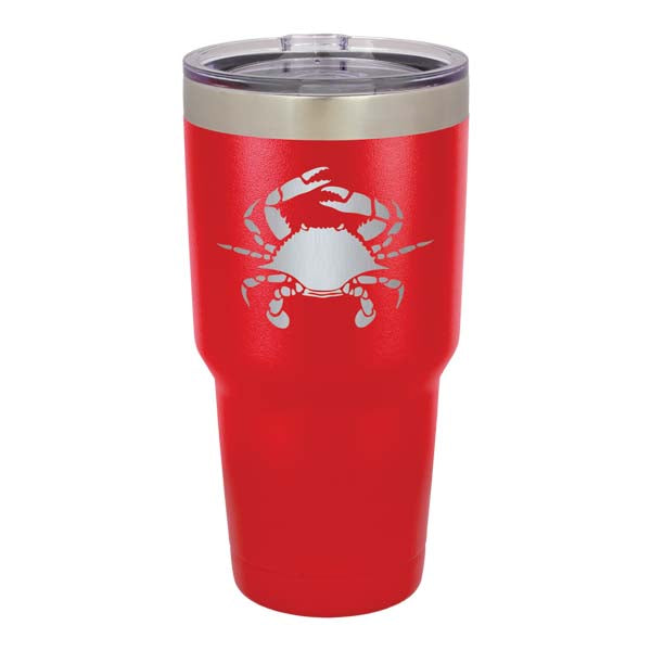 Crab 30 oz. Insulated Tumbler