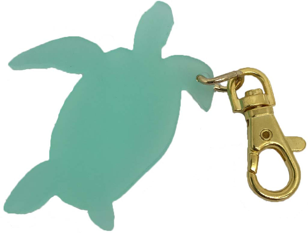 Sea Turtle Bag Charm