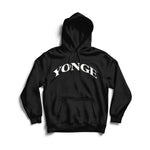 Yonge Arched Logo Essentials Hoodie - Forever Yonge